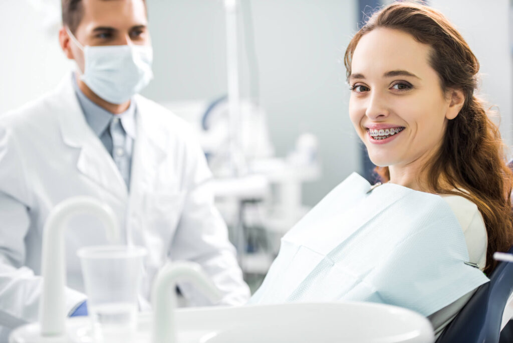 dental patient for Affordable Orthodontics in Woodland Hills